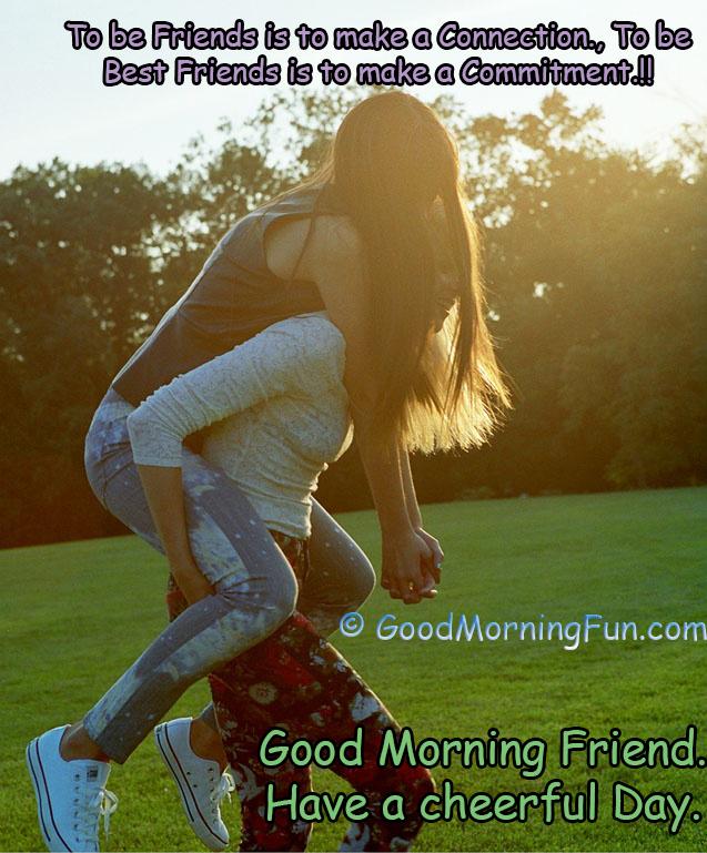 Best Friends Good Morning Image